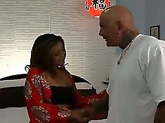Fresh-faced Filipino fuckdoll Leilani is filled with spunk.
