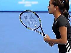 Ana Ivanovic ist heiß! Reizvolle On- Gericht Drucke Teil 6 von 6