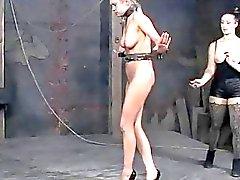 Savage pleasuring for hot lass