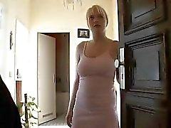 Cute amateur German blonde