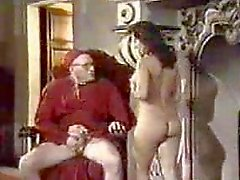 Nun ile Retro Oral Creampie