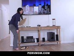 PervMom - Horny Stepmom Devours Stepsons Cock