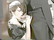 vintage maid cum in mouth