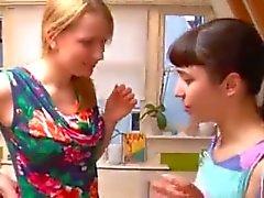First time lesbian girls