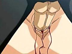 Muñeca de de porno Hentai diminuta jodido por la primera vez