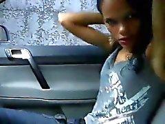 brasilianisch Auto blinkende
