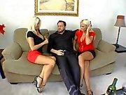 Hannah Hilton And Friends Make Their Tits Bounce