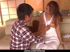 Di Nana a Ninomiya , moglie calda , sbalordisce marito pieno porno