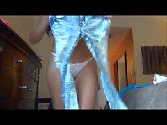Джанесса Brazil - Примерка Jeans