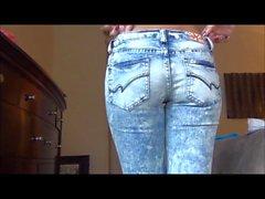 Janessa Brazil - intentar en los de los pantalones vaqueros