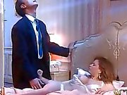 Bosss Frau die in tiefem Schlaf