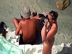 Sex vid stranden