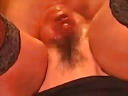 Extreme insertion - A head inside my vagina