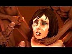 Bioshag - Uncensored Elizabeth Hentai