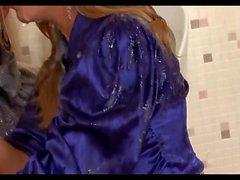 Zusammenstellung Fake Cum im Haar, Bukkake, langes Haar, Haare