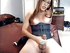 Orgasmo real Transexual de 23