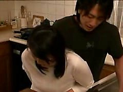 Slutty Oriental housewife with a lovely ass is addicted to