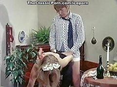 Сумасшедшая классическая XXX звезд в винтажном сцены порно