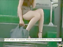 Río innocente jeune fille chinoise is fucked du bus