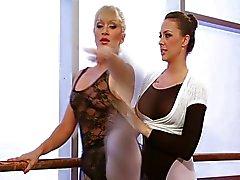 Lesbo balettitanssijoita