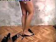 Indian Girl Striping En plagen