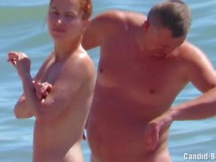 Nudist Sexy Private Beach Couples Voyeur Spycam HD Video