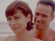 Catherine Bell JAG S05 E15 Blue Bikini
