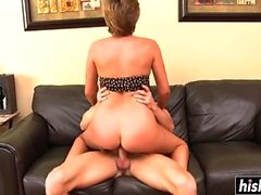 Bailey Bae gets her hairy pussy drilled