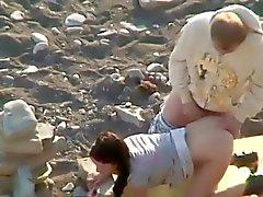 Geil Amateuren am Strand heimlich gefilmt