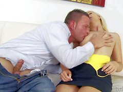 Sweet pussy girl Ashlyn Greene gets licked by her step brother