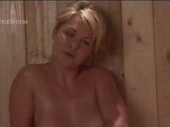 Heather Vandeven nackt in der Mädchens - nur Sauna