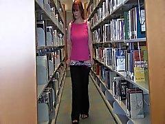 Белла Хаймес в коллеже Библиотека Прерывистое
