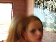 Jenny N in gonzo creampie sex scene by All Internal