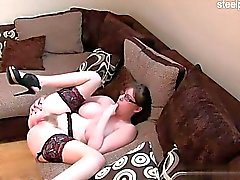 Horny slut first squirt