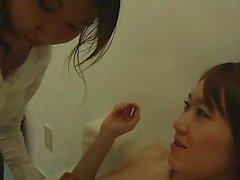 Japanischen Mädchen kiss1150
