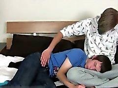 Homosexuell Film Eichelhäher sowie Matt tief Hals ab Geysiren Schwanz! Jay