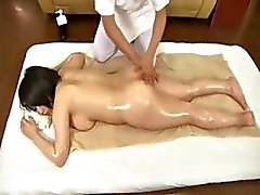 Yuki Maeda gets an oiled up massage and then gets drilled