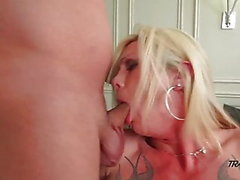 Morgan Bailey Shemale Ass Drillning