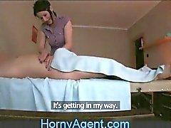 HornyAgent cazzo fin che arriva Il massaggio Mature