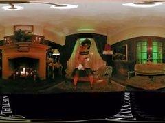 VR 360 kolumbianischen Maid Dildo spielen