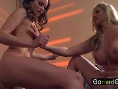 Samantha Ryan Julia Ann dishing out orgasms