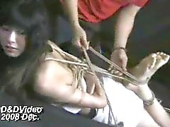 Bound Asian loves to feel trapped