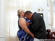 BBW mature housewife loves sucking big part2