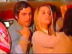 Gloria guida with nino castellano in a bus