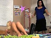 Cori loves spanking her hot friend