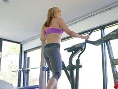 Sarah Vandella Sexy Training