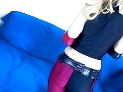 Big Tit Harley Quinn obtiene Creampied