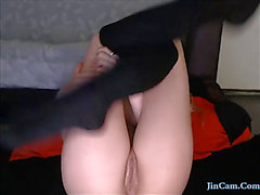 Hawt angel unfathomable toying cunt jincam