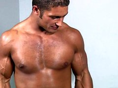 Muscle sexo oral gay e Ejaculação