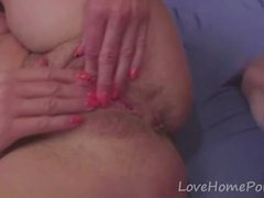Grandma seduces her young neighbor and gets fucked